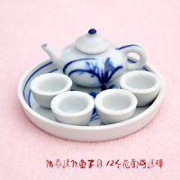 迷你陶瓷儿童茶具 陶瓷摆件 陶瓷小礼品 童子具 旅游工艺品厂家