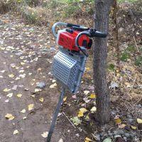便携二冲程移栽机 大马力断根起树机型号 启航苗圃断根挖树机