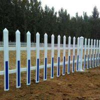 绿化带花坛护栏 学校围墙栏杆 塑钢社区护栏