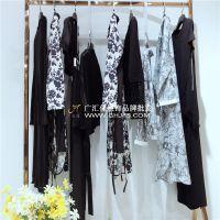 深圳高端原创设计师品牌捡子家春季女装折扣货源走份