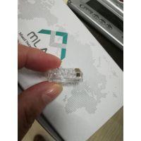 上海米蓝山东总代理原装超五类水晶头AC1000U5MD-00