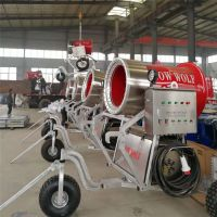 高温室内造雪机功能 小型雪场可用炮筒式造雪机