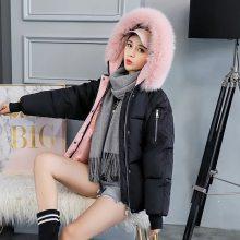 武汉女装批发市场 高端品牌宝莱国际新款羽绒服 尾货库存走份挑款批发