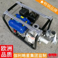 汽油洗车水泵 小型汽油机自吸泵 汽油机水泵组 秦