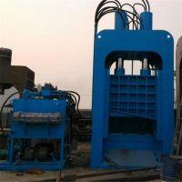 重型500吨龙门液压机 废铁液压剪切机 槽钢圆钢剪断机工作视频