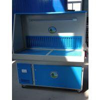 打磨除尘工作台实恒家具厂打磨抛光粉尘处理设备