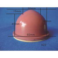 A22红色移印机胶头 移印硅胶头 移印圆形胶头 移印胶头定做