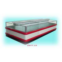 供应岛式风幕玻璃冷柜