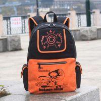 动漫火影忍者写轮眼星空背包帆布学生双肩包旅行包学院男女风