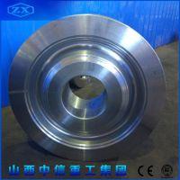 锻造厂生产锻造起重机车轮 锻件厂加工回转窑锻件工艺流程介绍