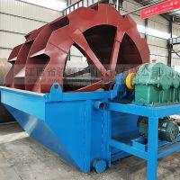 轮斗洗砂机厂家价格 江西骏辉加工定制冲孔板筛网型洗砂机