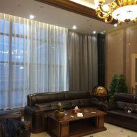 窗帘布艺 办公室纯色单面绒遮光窗帘布艺定制