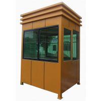 艺术钢结构岗亭价格及结构