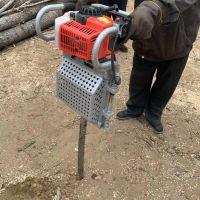 和油锯操作一样的挖树机/铲树机手拿轻便
