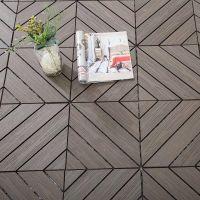 户外阳台栈道塑木地板 生态环保木塑地板 DIY拼接小地板