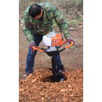 供应JC-002手提钻坑机 大功率挖坑机 手提地钻挖坑机