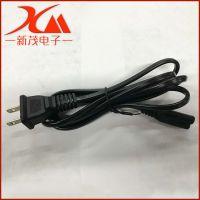 厂家供应 1.5M美规八字尾电源线 美式电源线 美标扁插电源线