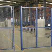 1.5米仓库隔离网 边框隔离栅价格 便宜的移动仓储网