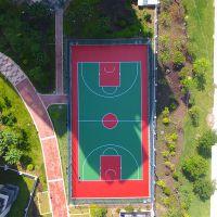 珠海优质丙烯酸材料批发 弹性篮球场面层建设 网球场地坪漆采购