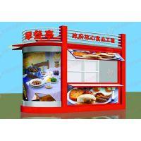 湖北黄石早餐亭,四川乐山LED显示屏售货亭,彩钢立柱设计,艺恒发光LOGO字体设计
