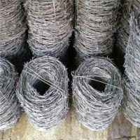 高碳钢丝刺线 高速公路隔离网 圈地刺铁丝