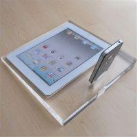 亚克力展示架平板电脑展示架 可来图定制 有机玻璃ipad展示架