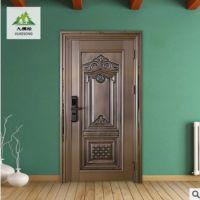 定制 甲级安全门 指纹密码锁防盗门 厂家直销 钢质复合门入户室内平开门