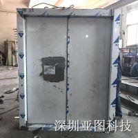 四川内江亚图牌防爆门 厂家直销单开式钢质防爆门