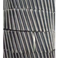 圆形冷却塔PP耐高温填料 黑色斜罗纹圆形填料 哪里价格便宜 品牌华庆
