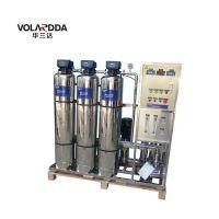 广西食品厂反渗透设备 华兰达纯水制取设备 全自动自清洗系统 维护好更耐用