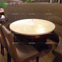 韩式防火板餐桌订做 汕头揭阳实惠防火板餐桌定制 大理石桌面