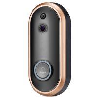 1080P无线可视对讲门铃摄像头 远程WIFI智能家居语音对讲监控摄像