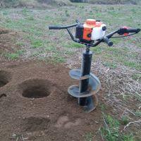 山西新款挖坑机图片 宏兴牌钻孔机价格 山地移树打孔机