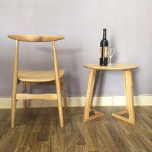 进口白橡餐椅子系列 牛角实木餐椅 橡木椅子厂 美式实木餐椅