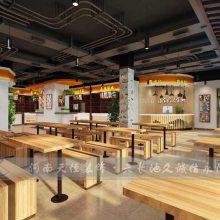 新郑美食广场要怎样装修设计更能吸引顾客