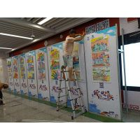 六一儿童节学校专用展板出租服务,南宁八棱柱展板工厂价格