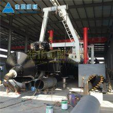 宜昌造船厂生产10寸绞吸清淤船 湖北清淤船基地