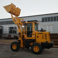 柴油农用建筑工程装载机 混凝土煤炭运输车 志成城镇工厂小型抓木机