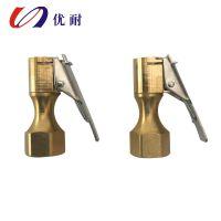 专用生产铜充气嘴,充气头,质量保证