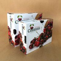 成都水果包装盒 樱桃礼盒包装定制 水果纸盒制作