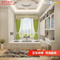 北欧简约现代板式床卧室1.5米1.8榻榻米床双人床抽屉储物柜定制