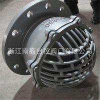 厂家专业生产软密封结构 H42X-6 DN125 水泵底阀 水泵抽水莲蓬头