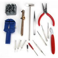 16件修表工具套装换电池工具DIY修表组合套装外贸爆款生活用品
