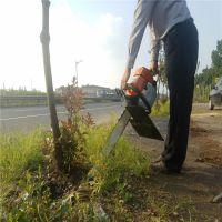 幼小树苗切断根部铲树机/挖树机带土球移栽