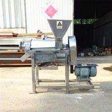 葡萄酒果酒行业水果破碎榨汁机设备 果蔬螺旋压榨榨汁机厂家