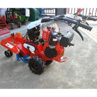 柴油自走式果园培土机/田园管理机甘肃梯田地广泛使用