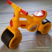 儿童学步车平衡车两轮滑行车带音乐灯光 无脚踏