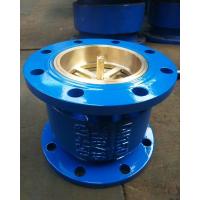 H41X铸钢法兰消声止回阀生产厂家