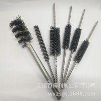 无锡铸造零部件铝件外壳抛光去毛刺毛刷通孔毛刷研磨刷厂家生产
