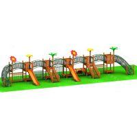 大型木质拓展训练、异型攀爬架、组合滑梯、钻桶爬网,公园、景区、幼儿园